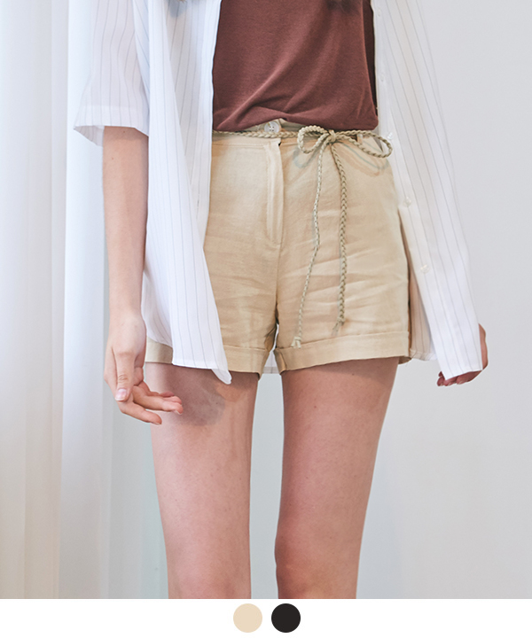 COOLEST EVER LINEN SHORTS