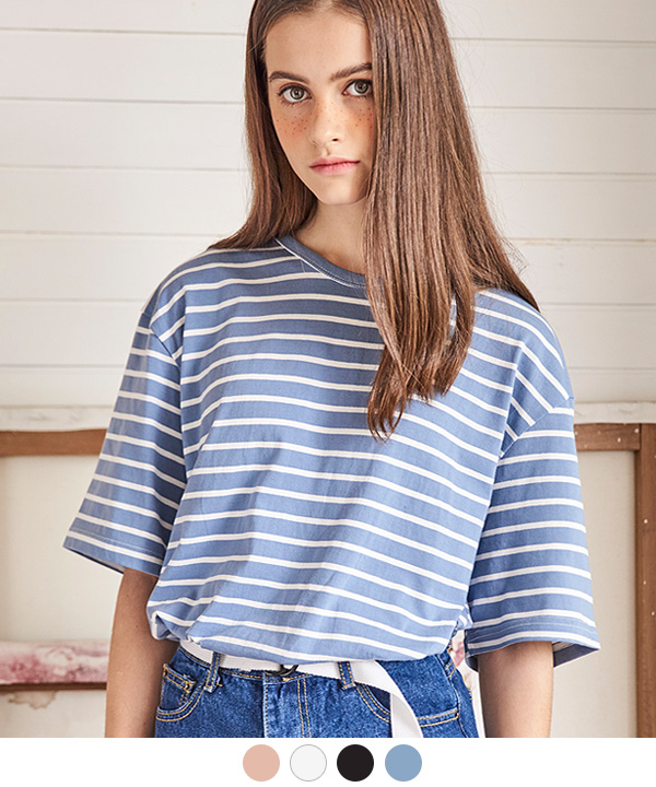 BLOCK STRIPE T-SHIRTS